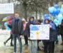 Флеш-моб у синьому пройшов у Сумах (Фото)