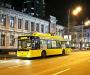 В Сумах на Пасху будут курсировать ночные автобусы и троллейбусы