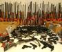 «Оружие и взрывчатка»  на Сумщине. 5 единиц огнестрельного оружия, 6 гранат, две мины и более 9 десятков патронов (Видео)