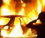 На Сумщине во время движения загорелся легковой автомобиль