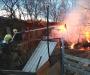 Пожарные спасли от полного выгорания дома на Сумщине (Фото)
