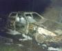 Дотла. На Сумщине сгорел автомобиль (Фото)