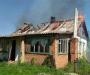 На Сумщине горят дома (Фото)