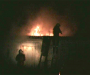 На Сумщине горят гаражи (Фото)