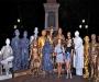 Живые статуи приглашают сумчан на День рождения