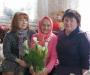 Привітали з сотим днем народження жительку села Кровне Анастасію Артемівну Саєнко