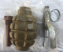 Продажей гранат зарабатывала жительница Донбасса