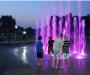 На Сумщине открыли световой фонтан