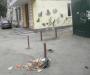 В центре Сум не убирают мусор