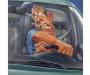 В Сумах водитель разбил машину знакомых, которую взял отремонтировать (видео)