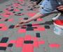 """На Сумщине расписали тротуарную плитку """"под вышиванку"""" (фото)"""