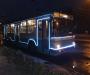 Сумчан будет обслуживать новогодний троллейбус (фото)