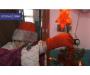 В Сумах жители украсили свой подъезд к новогодним праздникам (фото)