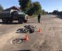 На Сумщине мотоцикл врезался в грузовик