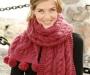 Совет дня: выбор пряжи для шарфа