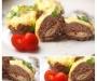 Рецепт дня: Мясные зразы с омлетом