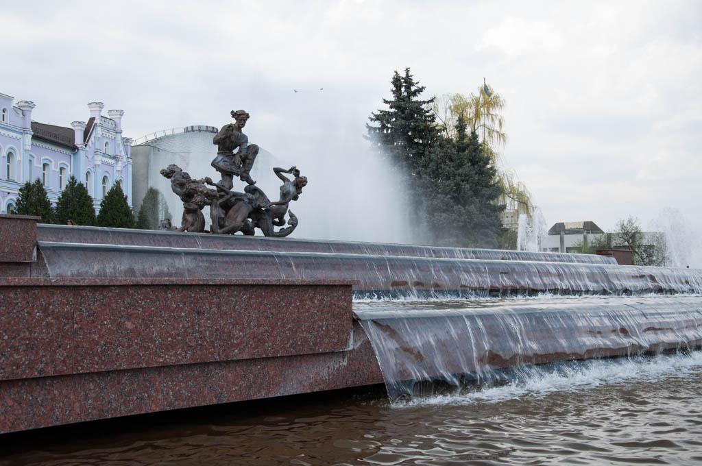 Сумские фонтаны остановят для профилактики